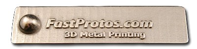 Polished 3D Metal Printing